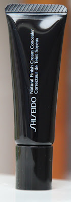 shiseido natural finish cream concealer correcteur de teint soyeux test avis essai swatch blog