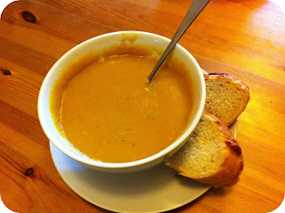 Pumpkin and Chicken soup