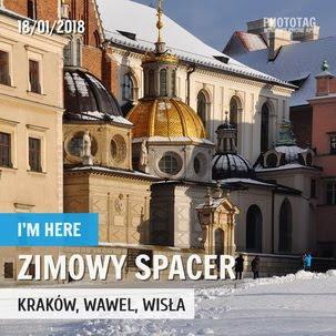 Zimowy spacer po Krakowie... (2018)