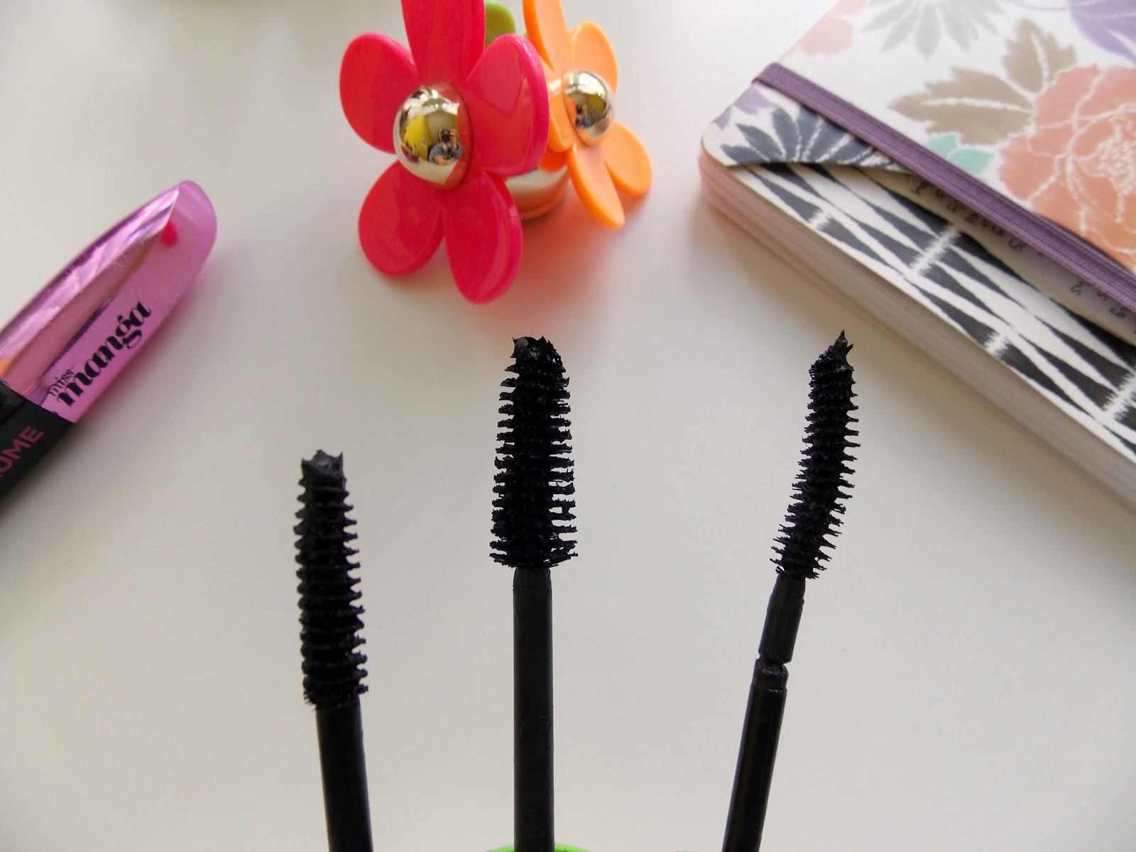 Drugstore/High street mascara edit, collection longer lash mascara, rimmel scandal eyes mascara, maybelline the falsies mascara, photo, review, swatches
