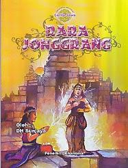 toko buku rahma: buku RARA JONGGRANG, pengarang sunjaya, penerbit kharisma