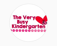 The Very Busy Kindergarten Button