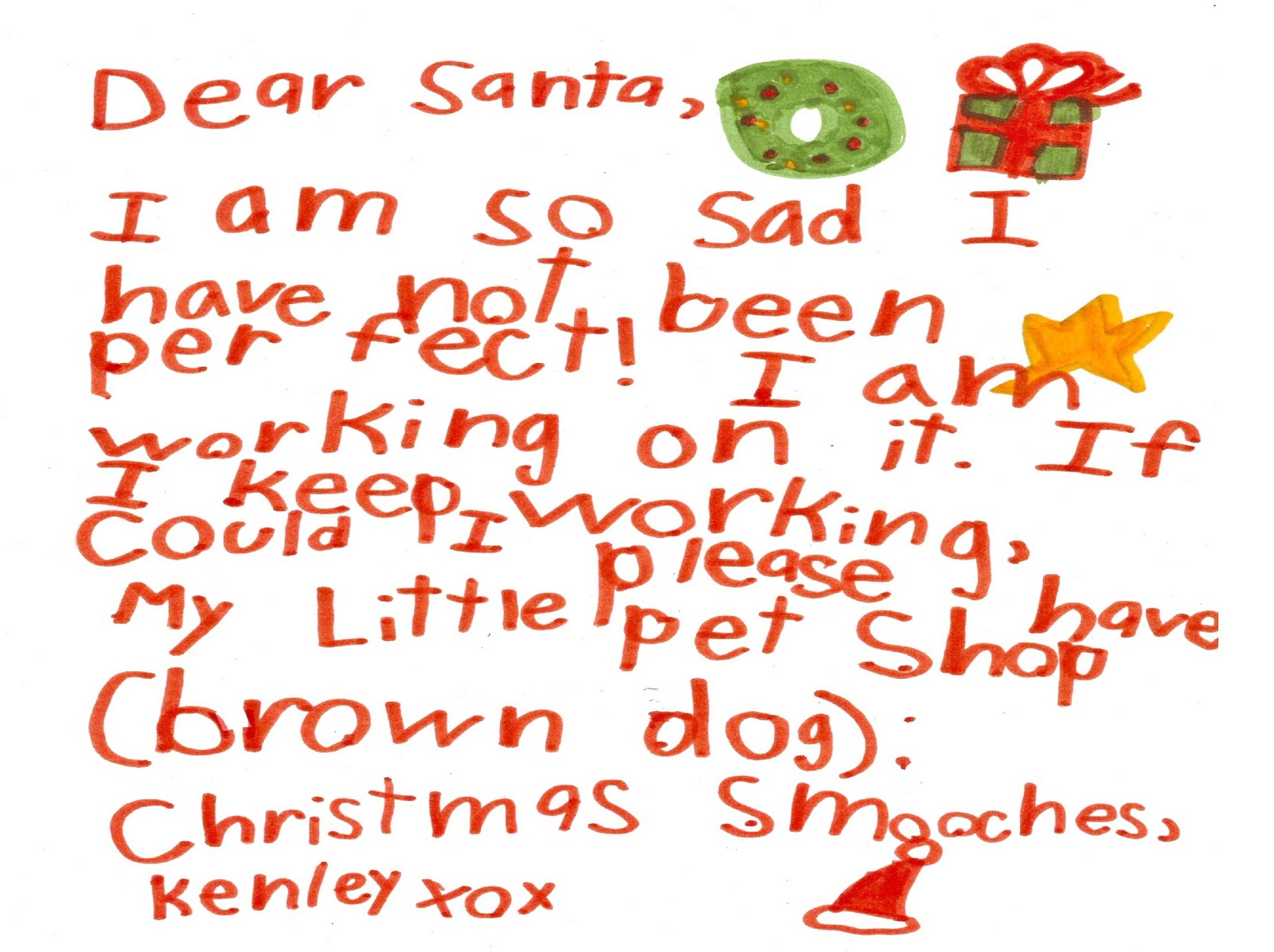 The Brighter Side Yyc Letter To Santa Cookies