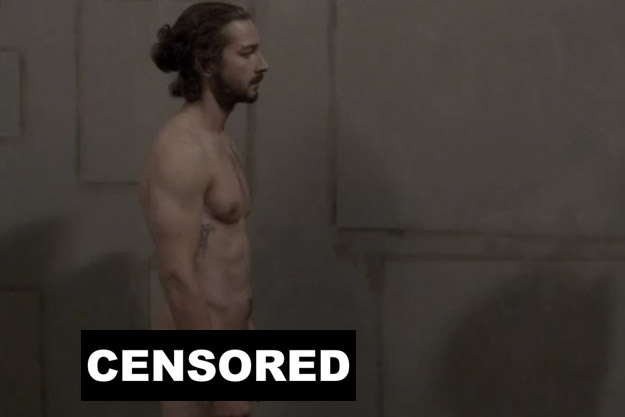 Shia Labeouf- real sex for the movie