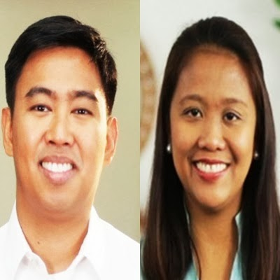 Siblings Mayor Junjun Binay and Sen. nancy Binay