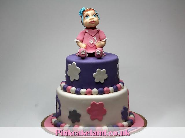 Children's First Birthday Cake