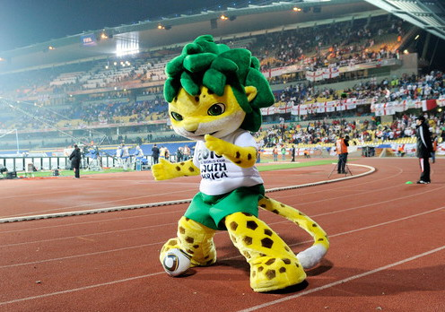 Leopard Zakumi Mascot for the 2010 FIFA World Cup