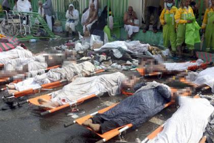 Tragedi Mina: Kantor Berita AP Lapor Lebih 1.450 Jemaah Wafat
