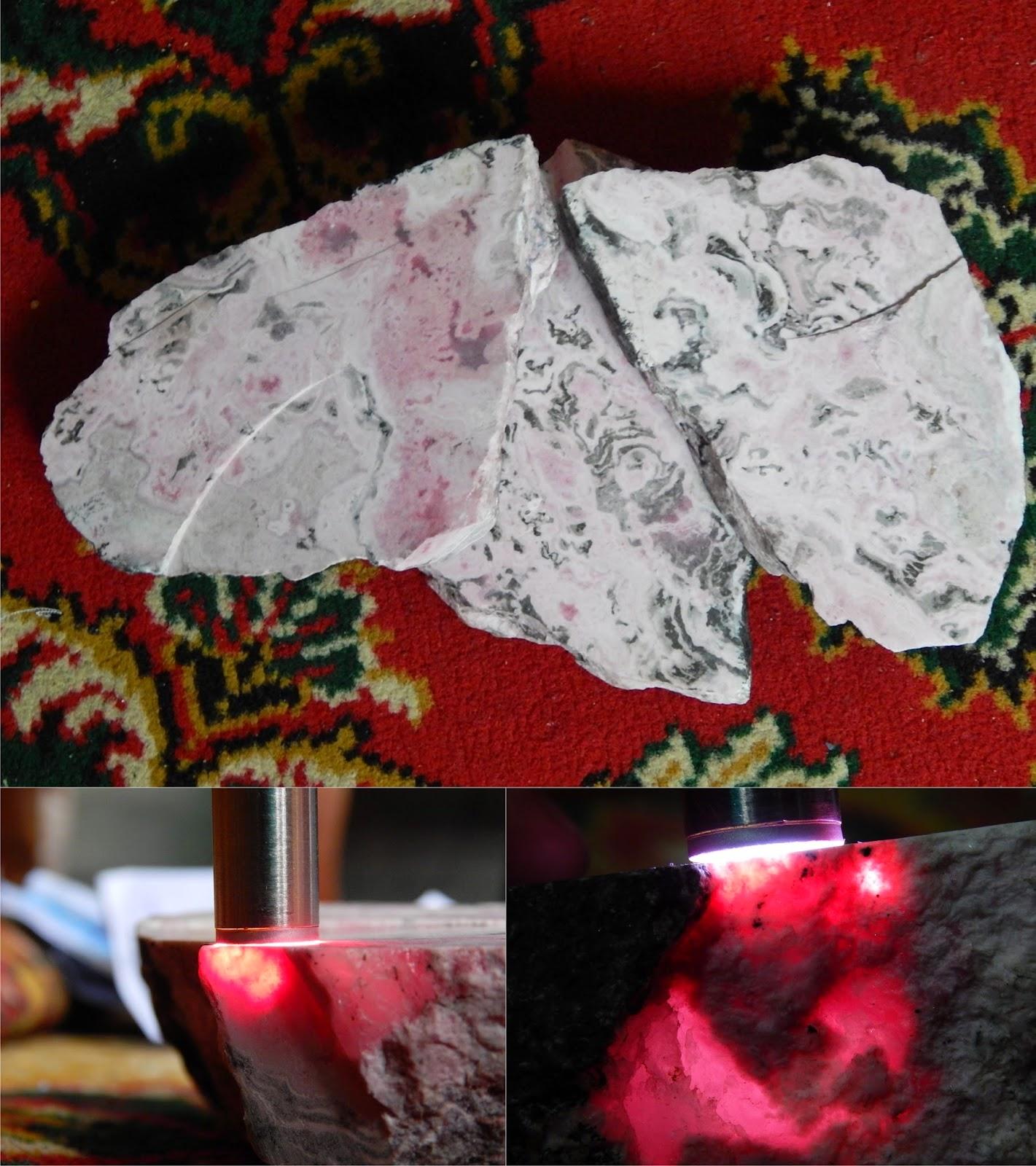 Bongkahan Rhodonite Sumbawa