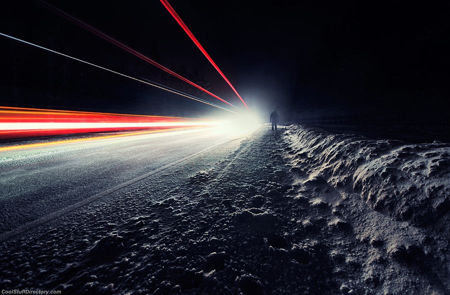 32. Night Road by Mikko Lagerstedt