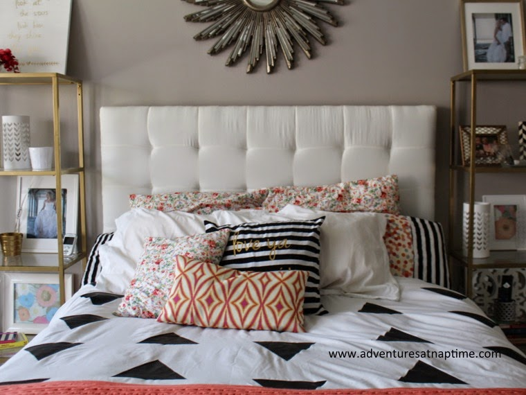 Master Bedroom Geometric + Floral