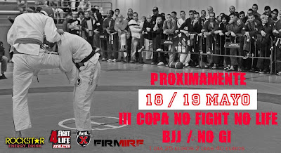 III Copa No Fight No Life BJJ Gi/No Gi