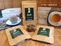 Tee aus Kaffeeblättern