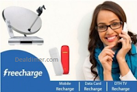 Recharges & Bill Payments upto Rs. 150 Cashback – FreeCharge