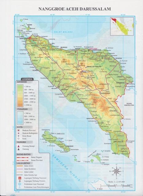 mudah belajar ips smp peta 34 provinsi di indonesia