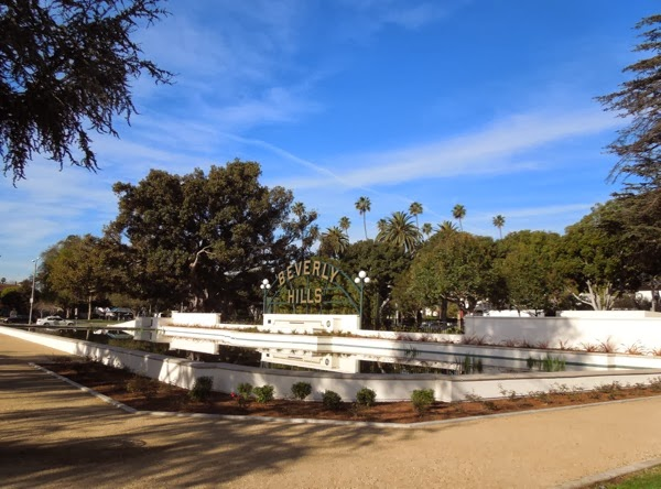 Beverly Hills restored Lily Pond