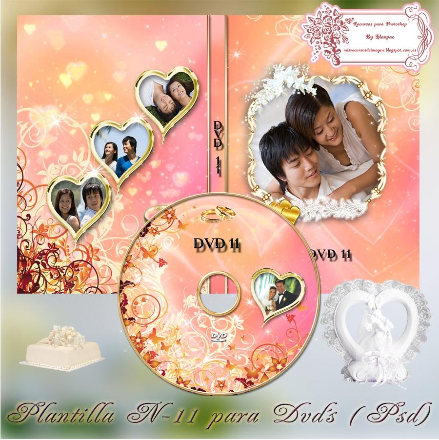 Recursos Photoshop Llanpac: Plantilla para caratulas de Dvd especial ...