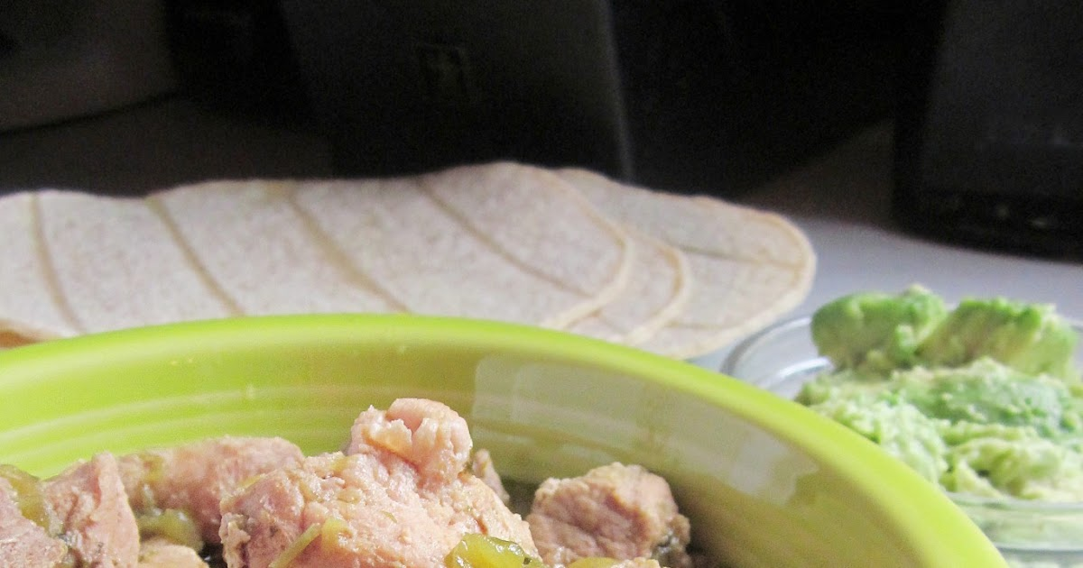 Diddles and Dumplings: 3 Ingredient Slow Cooker Chile Verde