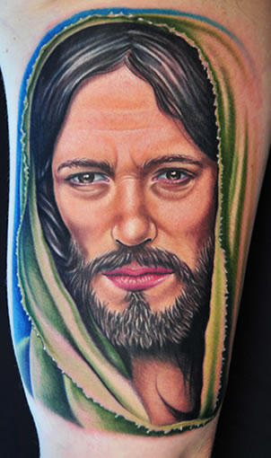Free Jesus Tattoos Designs