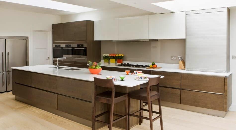 Soluciones de vidrio para la pared frontal de la cocina - Revestimientos para cocinas ...