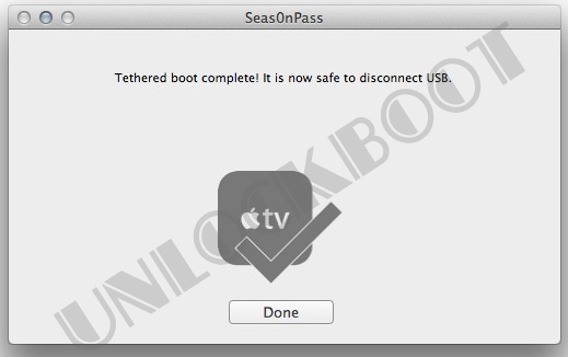 Jailbreak apple tv 2g 5 0 ios 5 1 with seas0npass on win and mac