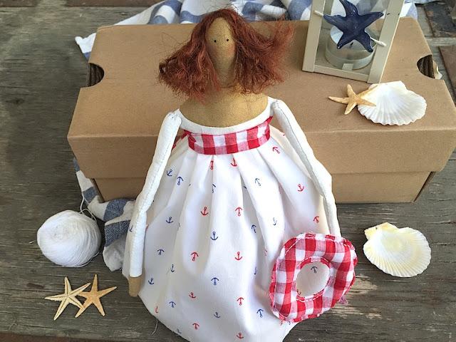 Сшить куклу без машинки своими руками 8