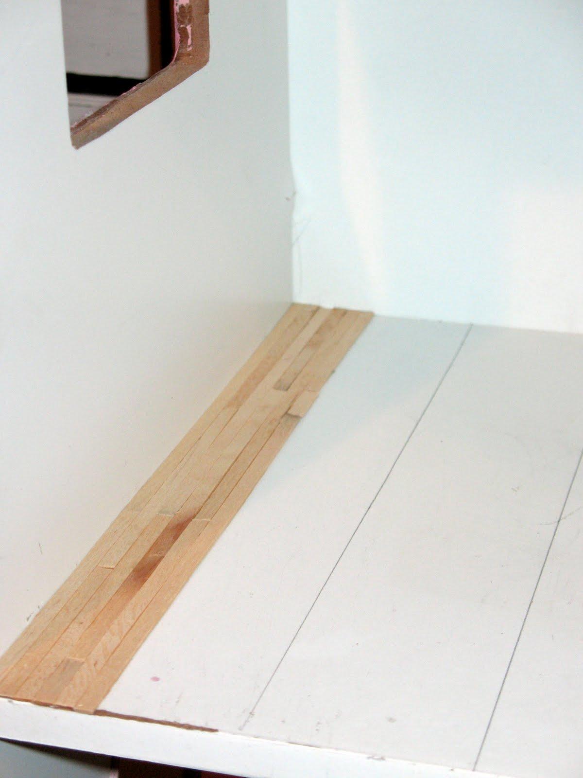 artsy fartsy new wood floor. Black Bedroom Furniture Sets. Home Design Ideas
