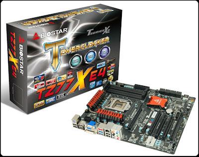 Motherboard BIOSTAR TZ77XE4 Untuk Overclocker