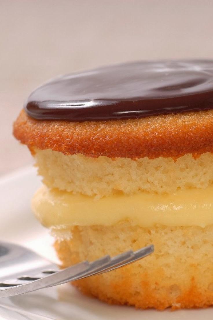 Boston Creme Cupcakes | Cook'n is Fun - Food Recipes, Dessert ...