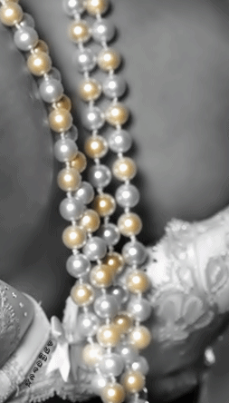 Perlas vislumbrando cada poro de mi piel