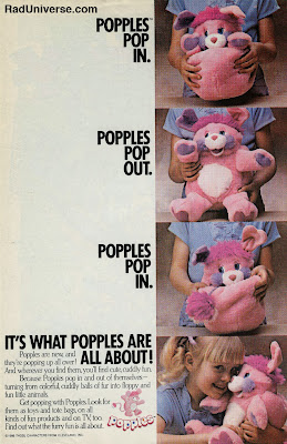 Popples! I love the 80s www.thebrighterwriter.blogspot.com