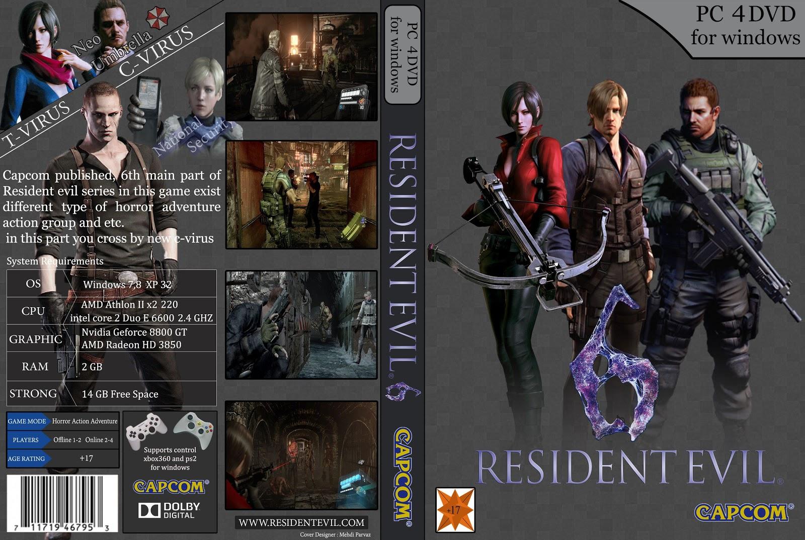 Capa Resident Evil 6 PC