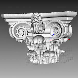 El escáner Eva permite construir mallas de gran precisión