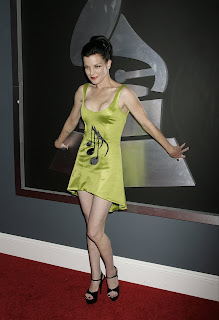 Pauley Perrette at the Grammys