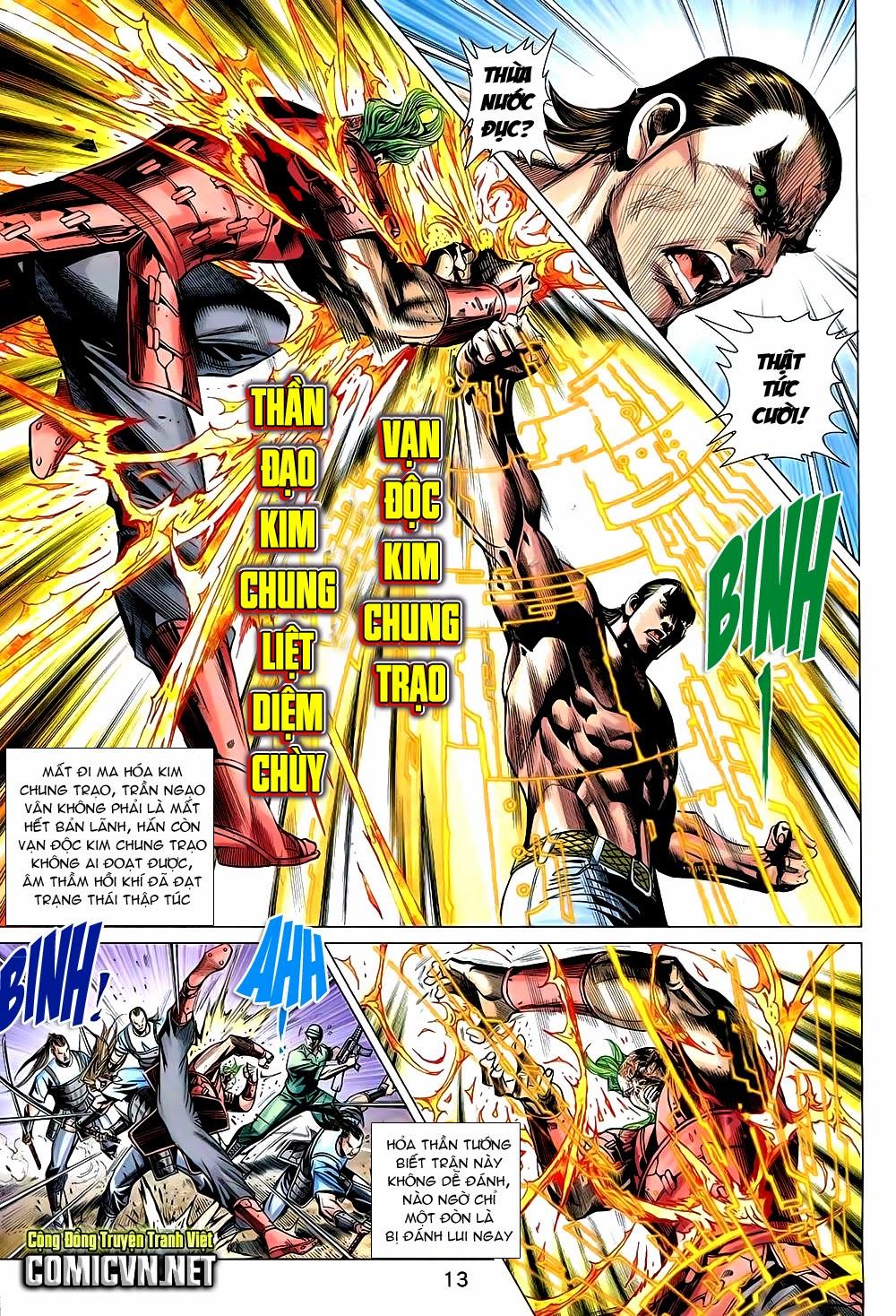 Thạch Hắc Long Truyện Chap 90 - Trang 13