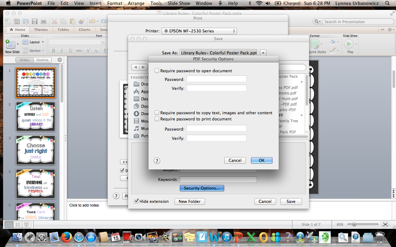 how to create a pdf from 4 images in mac