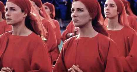 the theme of feminist dystopia in the handmaids tale a novel by margaret atwood 'the handmaid's tale': a white feminist's dystopia atwood describes her novel as speculative fiction, meaning that she believes the events she depicts are a credible possibility handmaids tale margaret atwood racism one clap, two clap.