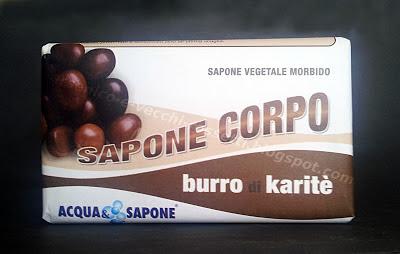 Acqua & Sapone Sapone Corpo al Burro di Karité