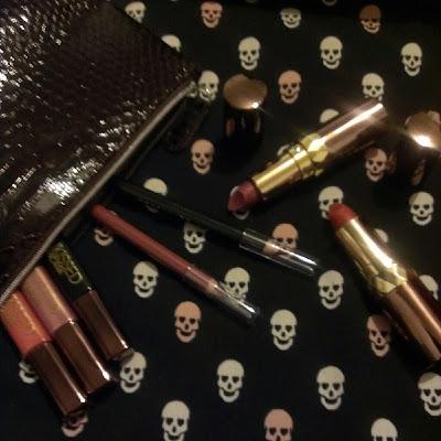Sunkissed makeup bag gift set