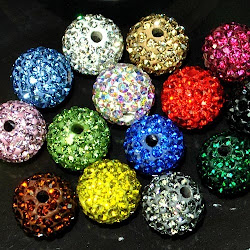 Pave Beads - All Colors