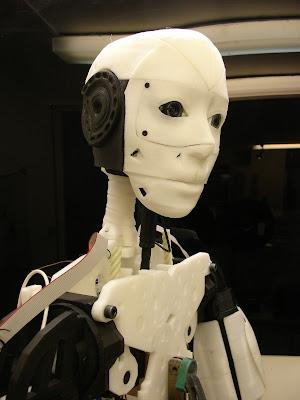 InMoov 3D Printed Humanoid Robot