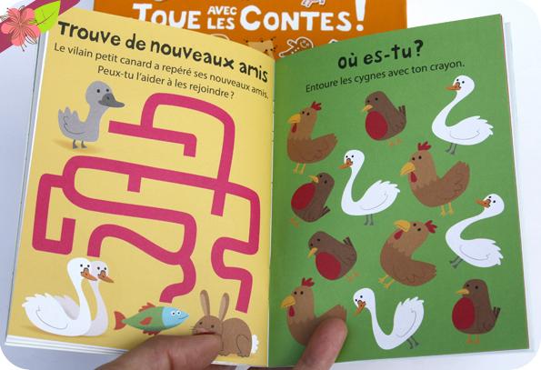 Valisette 6 livres - Joue avec les contes ! - Gründ Jeunesse