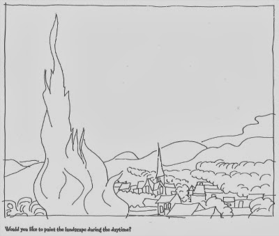 Kinderarten incontri d 39 arte van gogh for Disegni da colorare di van gogh