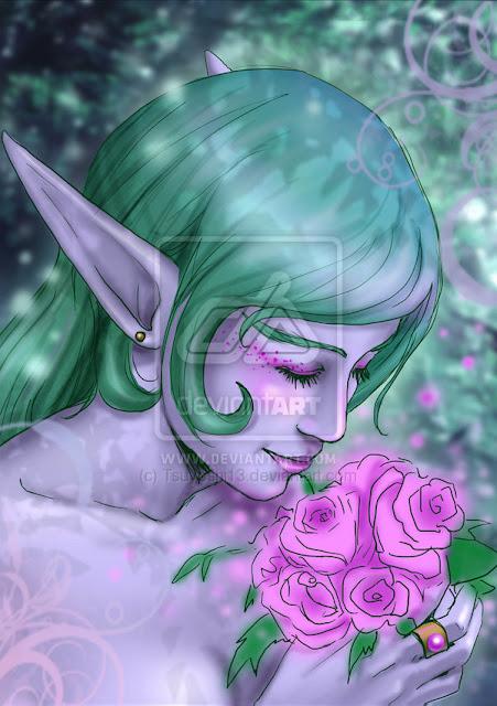 ::Night Elf:: por Tsuyoshi13