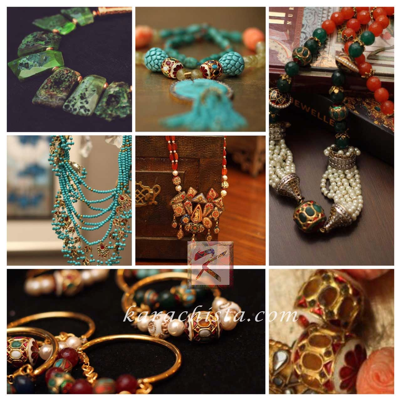 Fashion jewellery in Pakistan - Allure by Mehryn Tabani