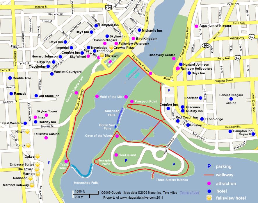 Niagara Falls  Travel Guide And Travel Info  Tourist
