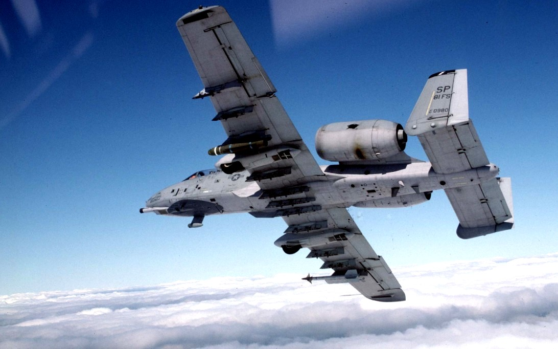 A-10 Thunderbolt aircraft wallpaper 2