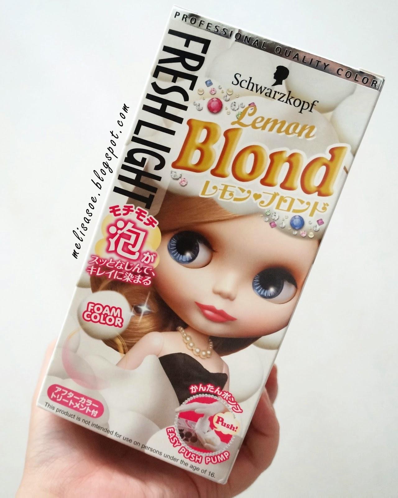 Jual Fresh Light Foam Hair Color Schwarzkopf