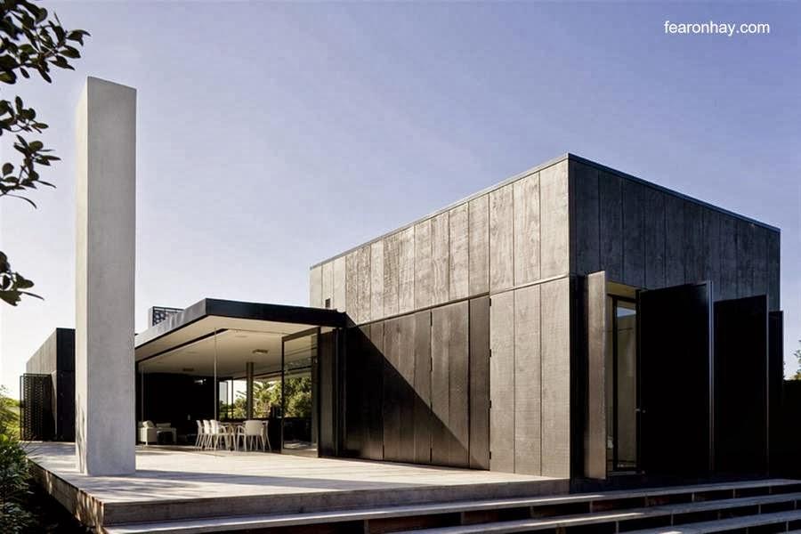 Arquitectura de casas dise os de casas de fin de semana y for Casa moderna lecheria