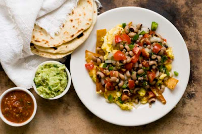 migas black-eyed peas New Year's Day